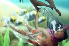 Undersea Frolic - Artist: Pelieo