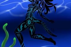 Undersea Tribal - Artist: Hybrid-No.01