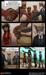 Page 13 of The Depths webcomic