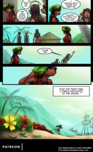 Page 14 of The Depths webcomic