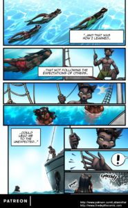 Page 15 of The Depths webcomic