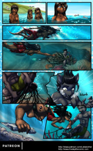Page 16 of The Depths webcomic