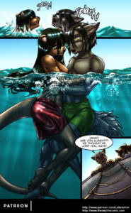 Page 18 of The Depths webcomic