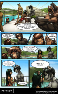 Page 19 of The Depths webcomic