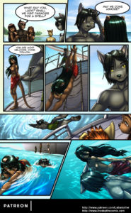 Page 20 of The Depths webcomic