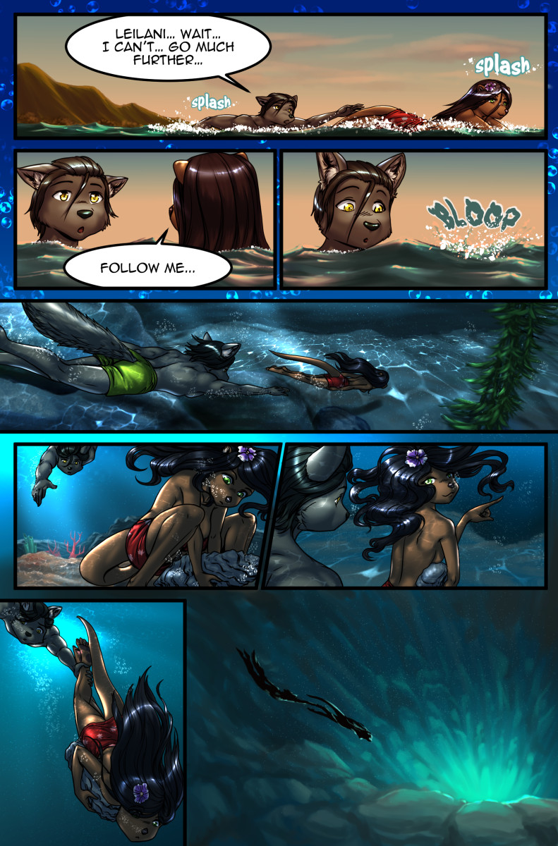Page 23 of The Depths webcomic