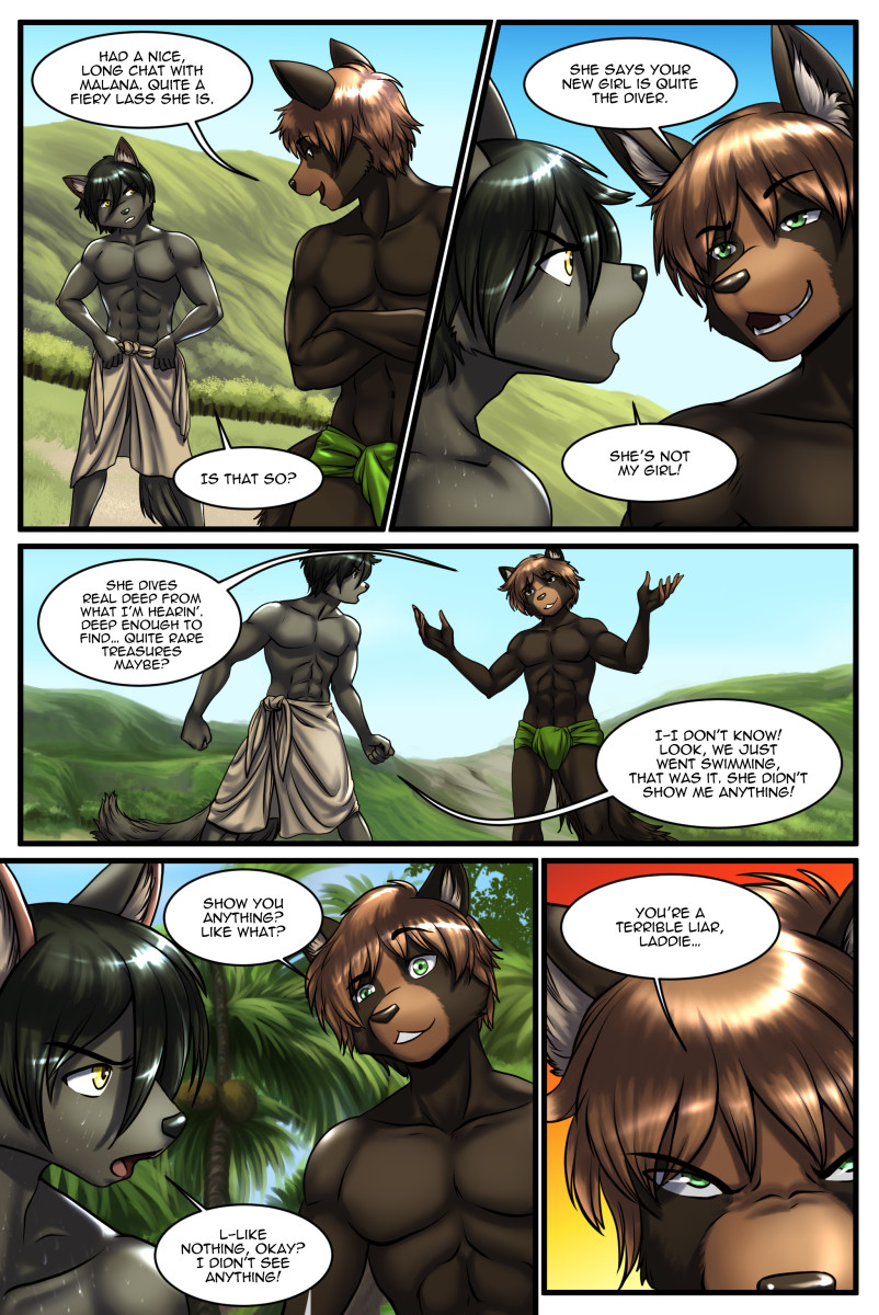 The Depths | An Adult Furry Comic
