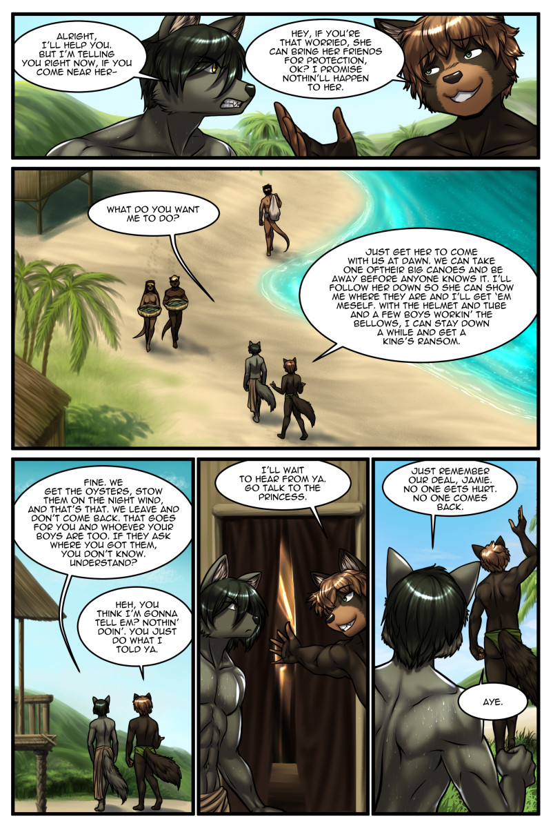 Page 40 of The Depths webcomic