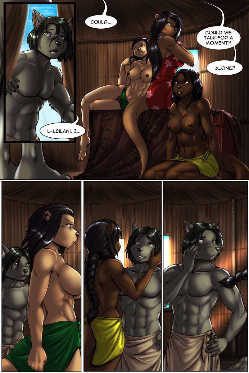 Page 41 of The Depths webcomic