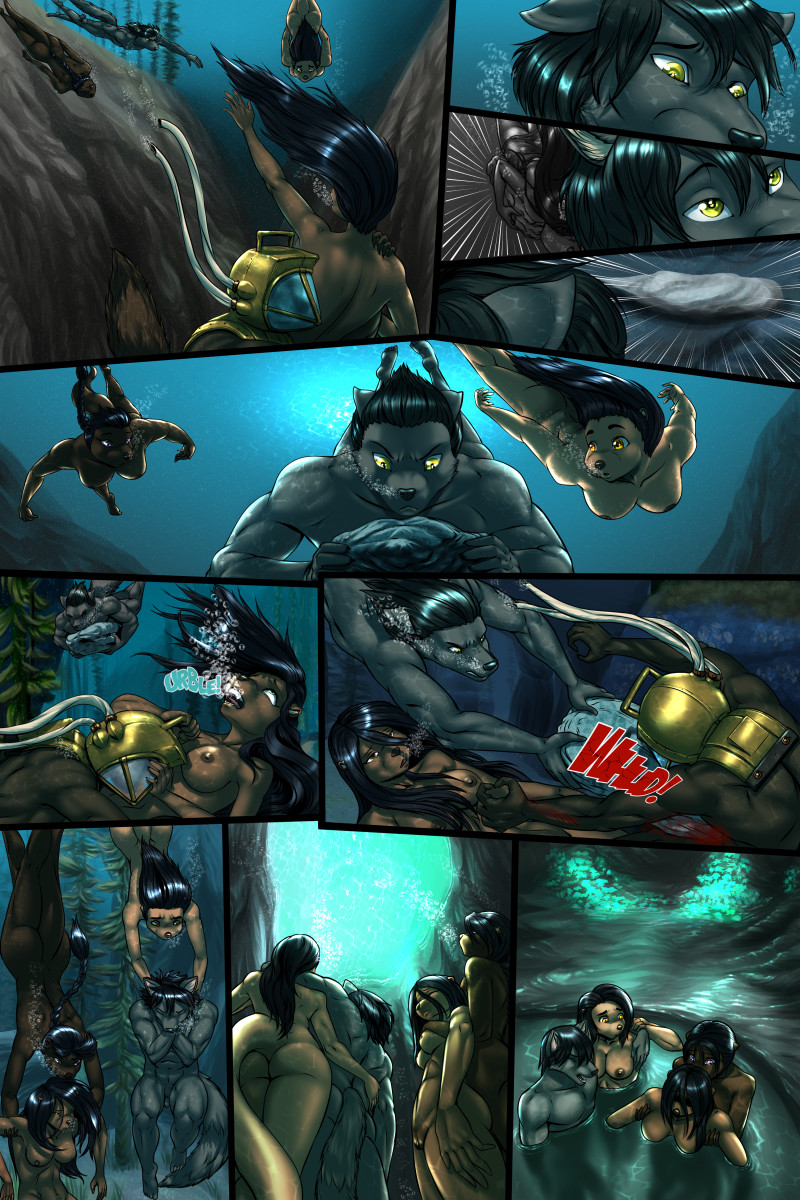Page 62 of The Depths webcomic