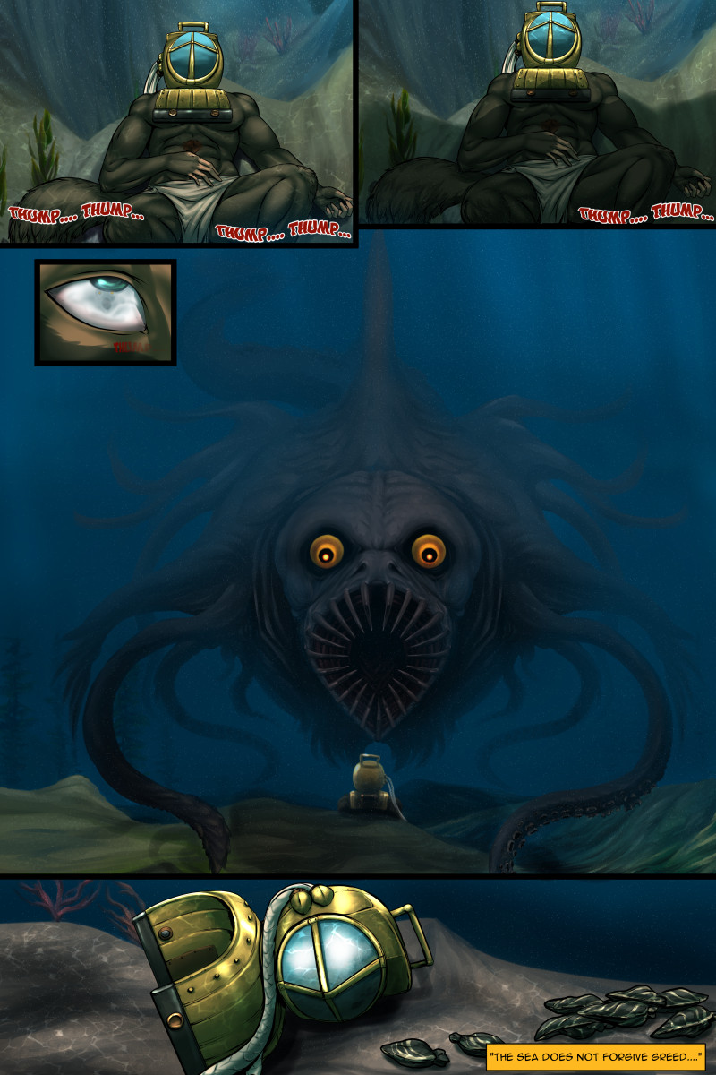 Page 64 of The Depths webcomic